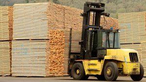 Material Handling Wheels Large Forklift