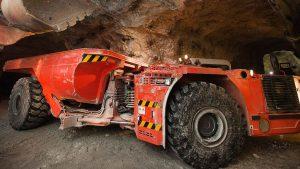 Underground Mining Wheels Hauler